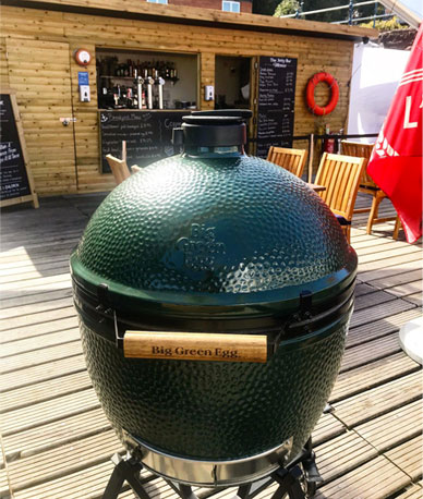 The Big Egg on The Jetty Bar